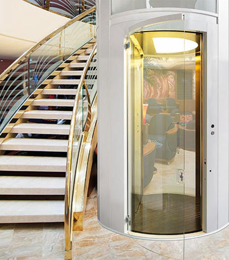 round panoramic suite lift
