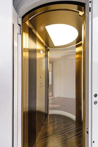 Round Panoramic Suite Lift West Coast Elevators