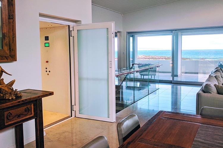 Mullalloo Perth north residential lift - West Coast Elevators