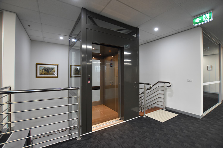 Commercial Crown Lift in Perth - west coast elevators 1