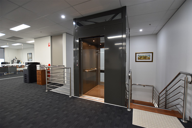 Commercial Crown Lift in Perth - west coast elevators 2