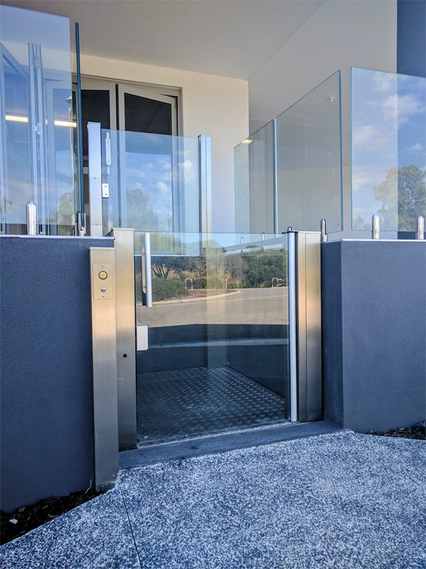 Crystal mini lift in perth - west coast elevators 1