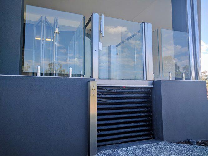 Crystal mini lift in perth - west coast elevators 3