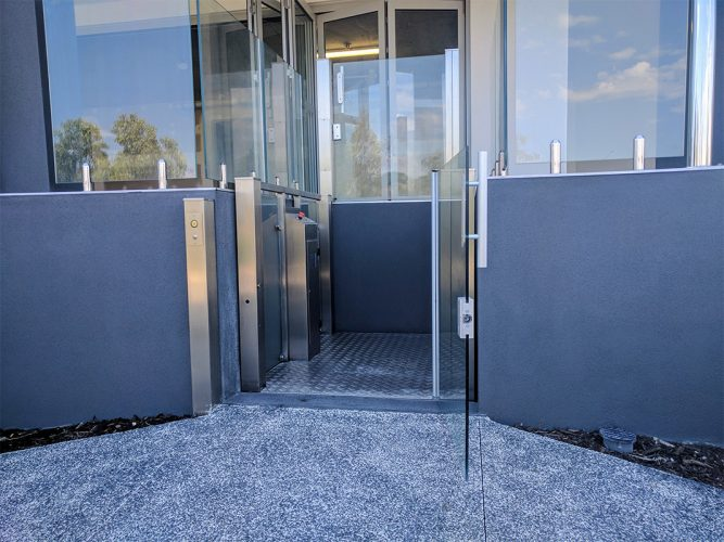 Crystal mini lift in perth - west coast elevators 3