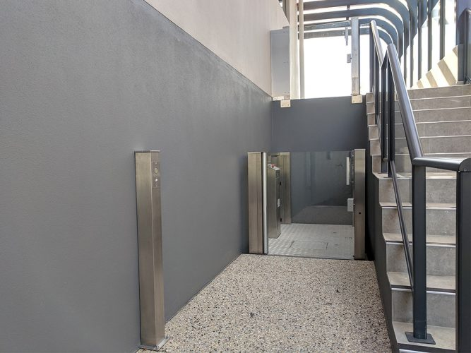 Crystal mini lift in perth - west coast elevators 5