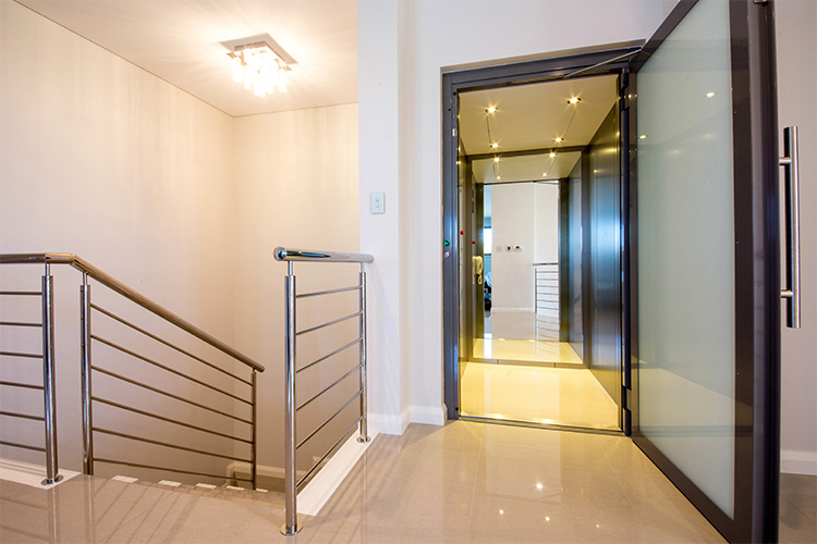 Residential Sovereign Lift in Perth - west coast elevators 1