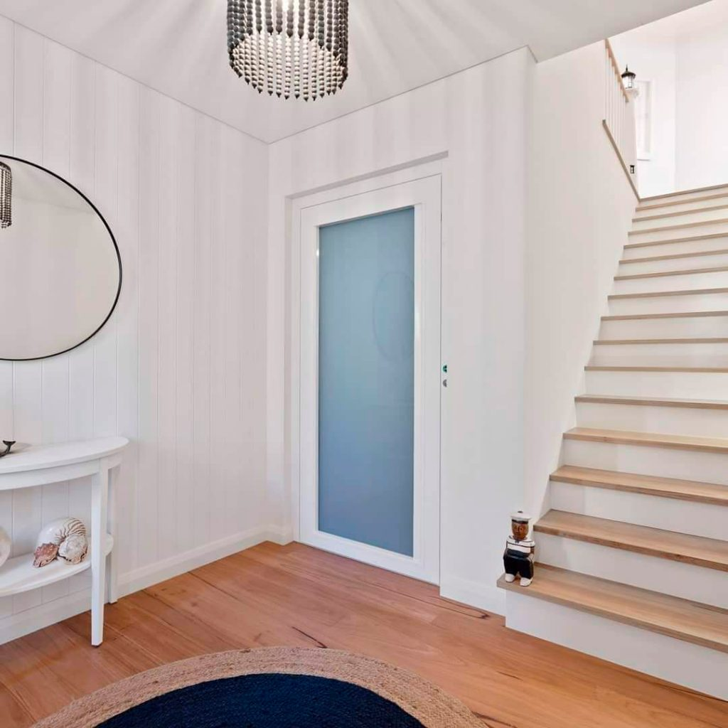 how much space does a home elevator need - perth