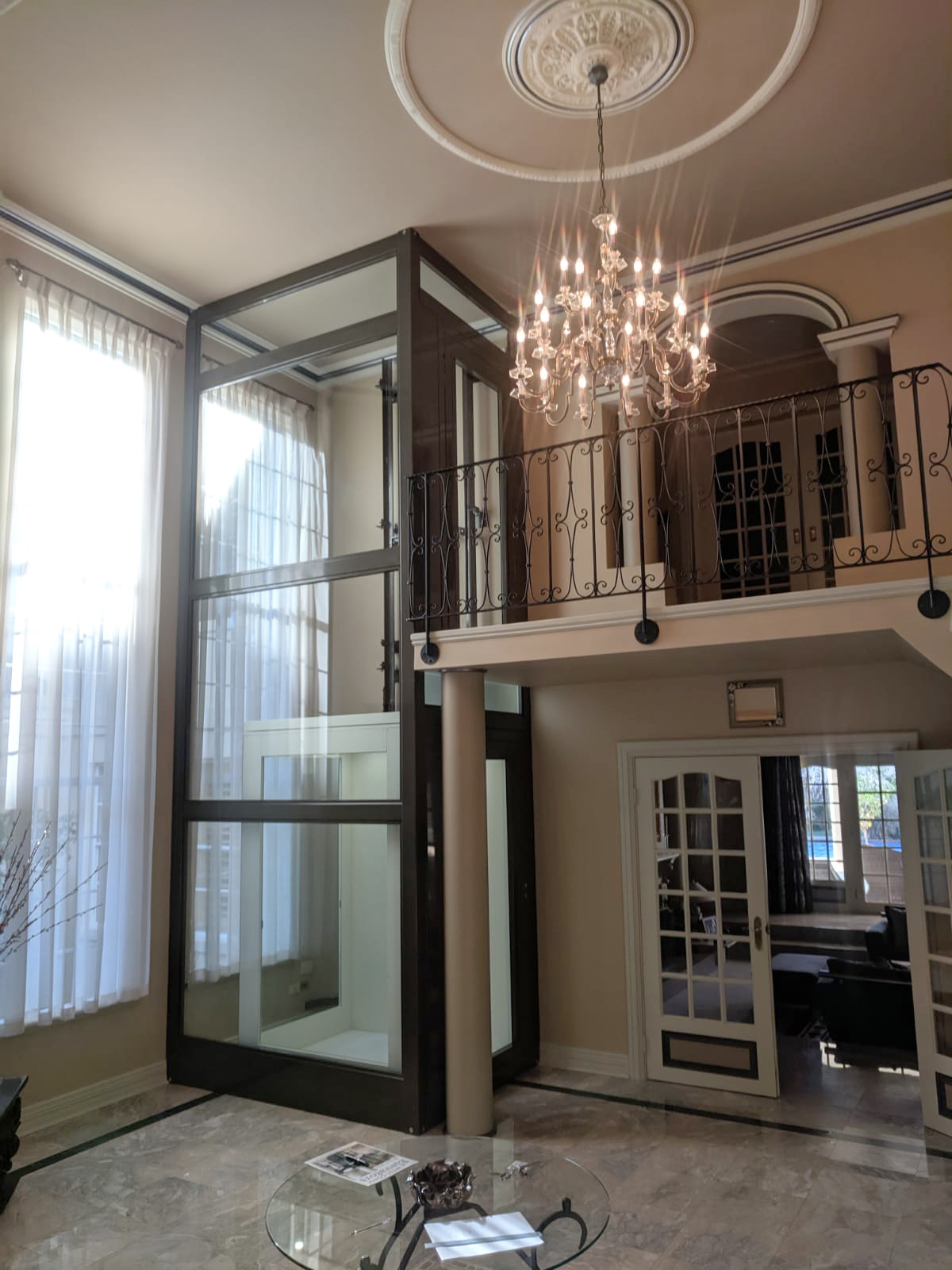 can you retrofit a lift in your home - after