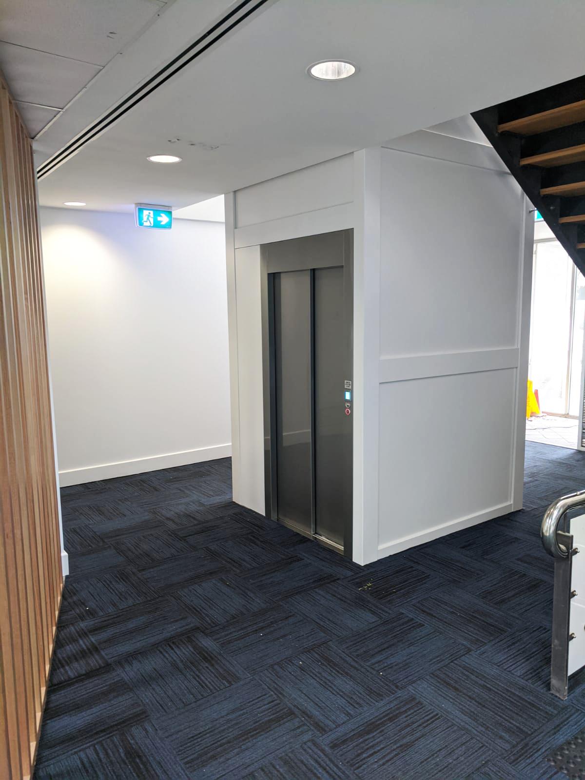 home lift retrofit western australia - after