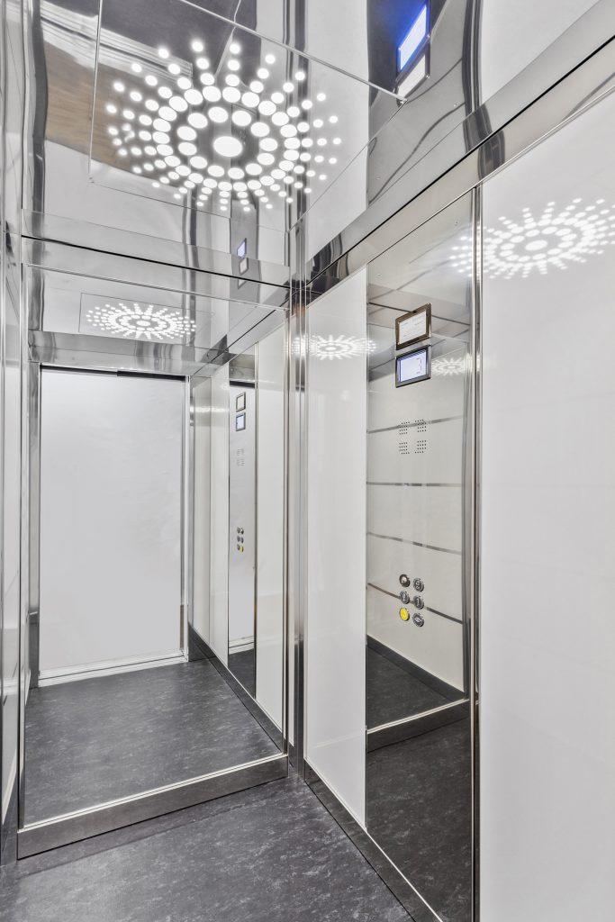 beautiful royal lift design with custom lights