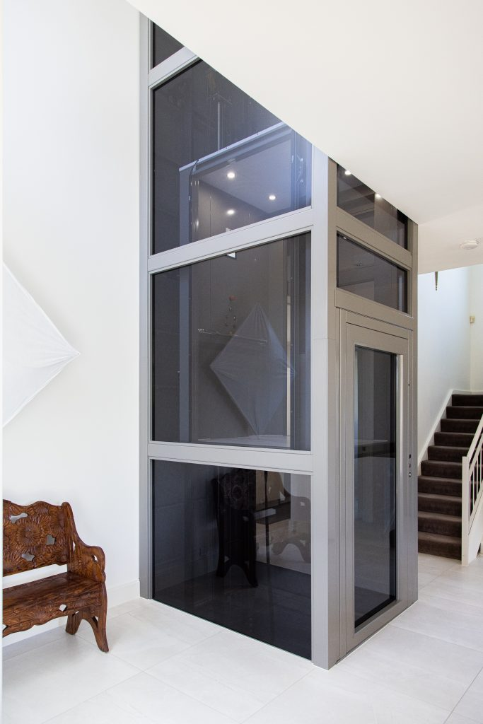 sovereign home lift shaft retrofit into existing home