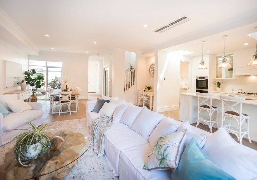 4 townhouses with residential lifts perth