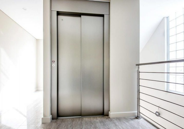 lift with steel exterior