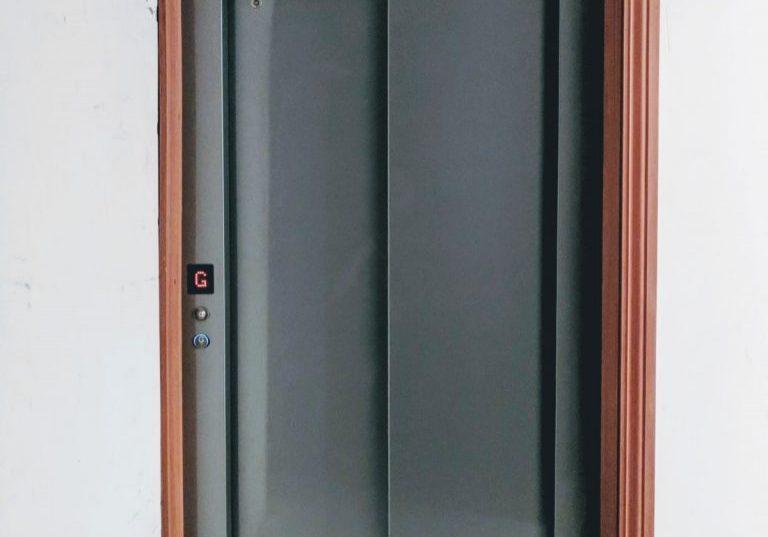 wood frame residential elevator